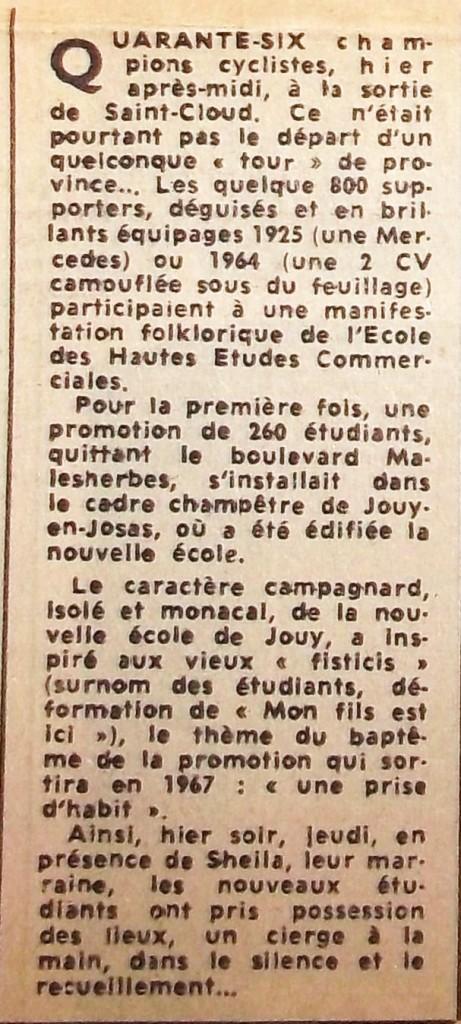 04 France Soir 31 oct.1964