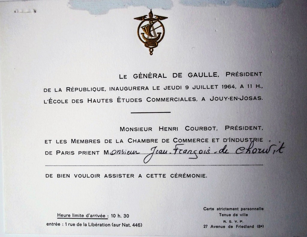 100_2031 Inauguration Jouy 9 juillet 1964
