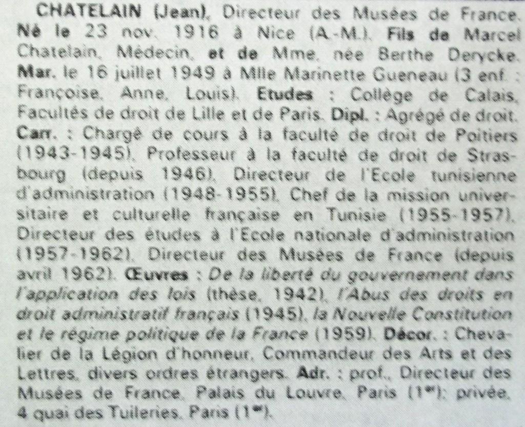 Chatelain  WW  69-70 -