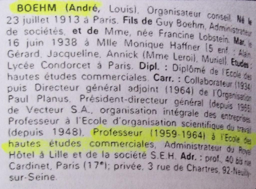 Boehm  WW  69-70