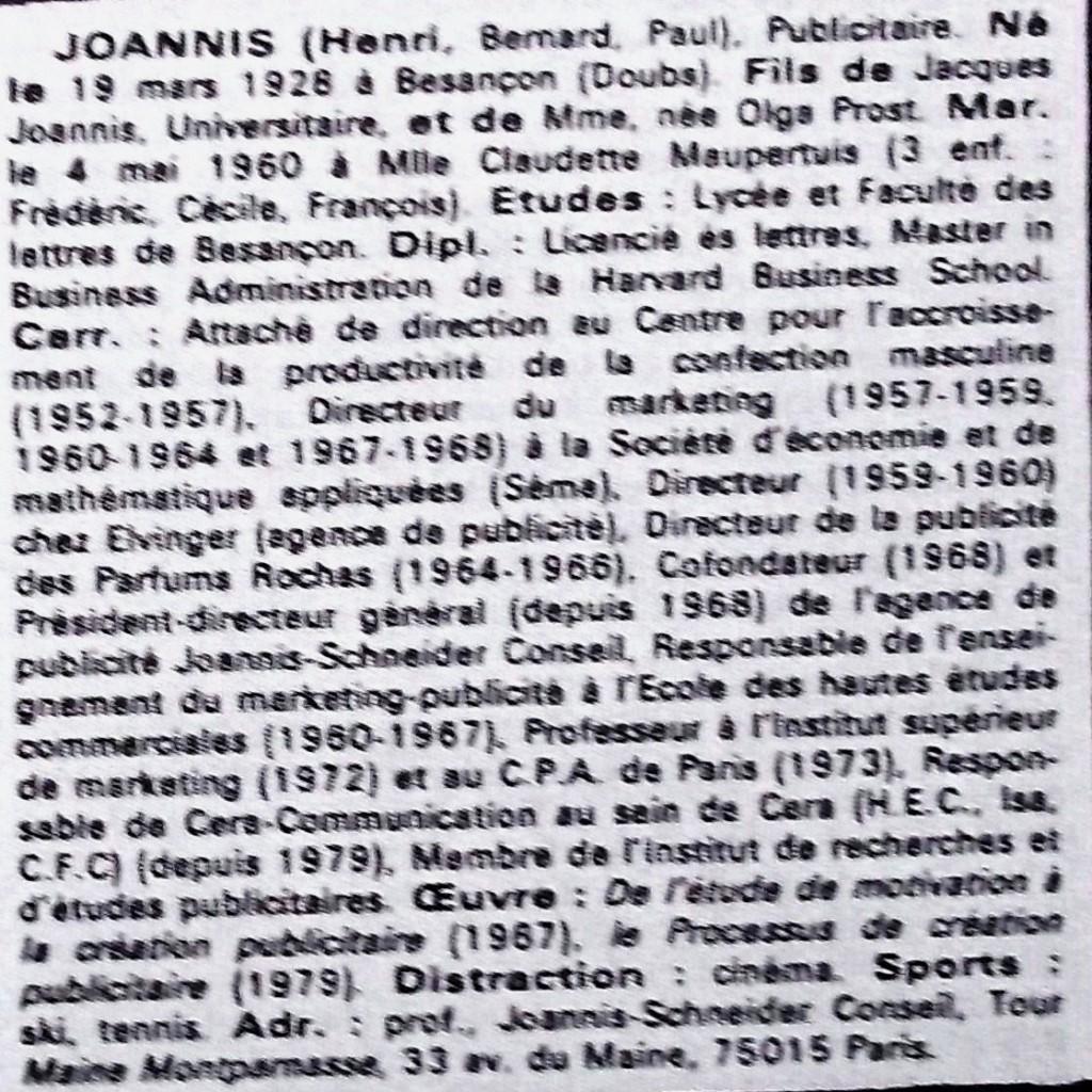 Joannis  WW  81-82