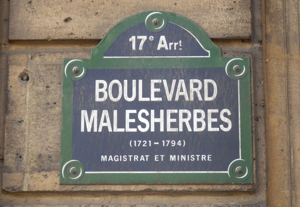 Plaque Boulevard