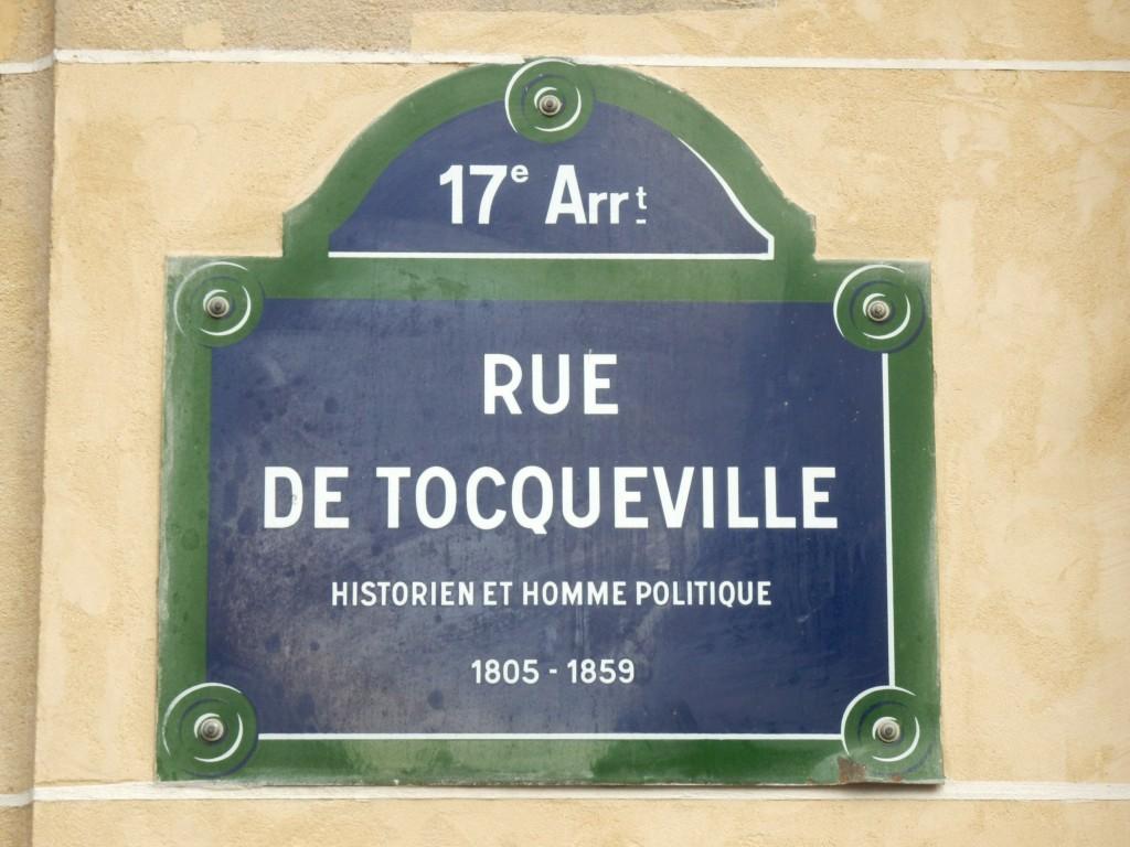 Plaque Tocqueville