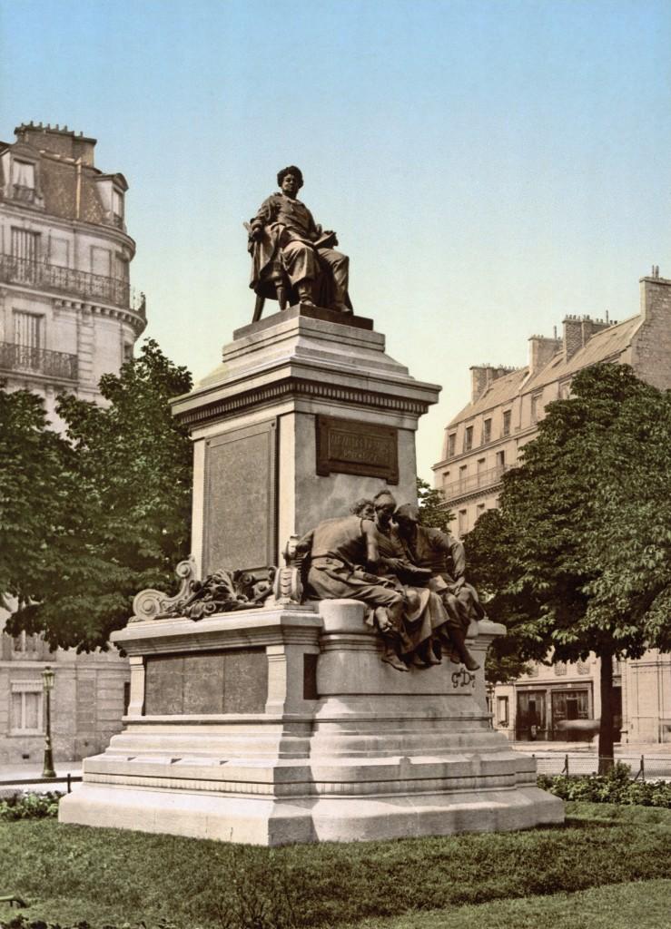 Statue d'Alexandre Dumas